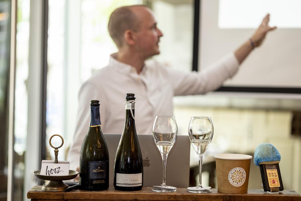 Master of Wine Konstantin Baum auf der Prosecco DOC MasterClass in München